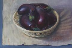 Aubergines, 66x49 cm, 2003