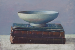 Bowl on small books, 12x18cm, 2003