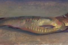 Spekbokking, 9x22 cm, 2005