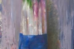 Asparagus in blue, 2008