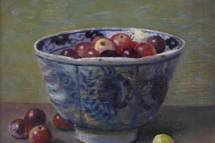 China Bowl and Cranberries, 2010