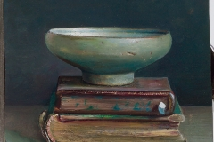 Bowl on small books, 2006