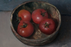 Wooden Bowl with Tomatoes, 2005