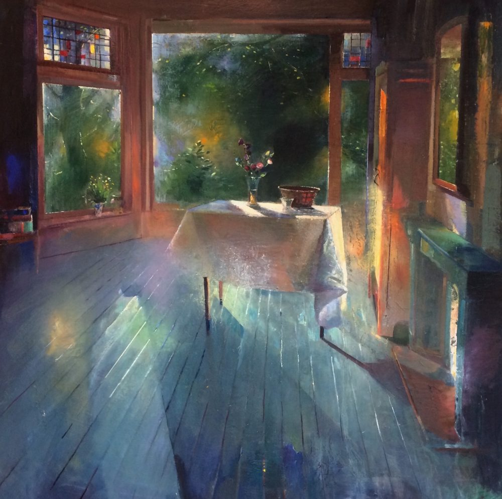 New painting: interior | Room In Early Summer